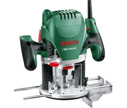 POF 1200 AE Plunge Router - Black & Green