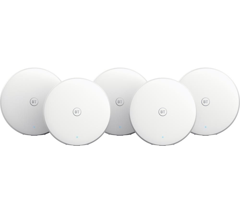 BT Mini Whole Home WiFi System - Pack of 5