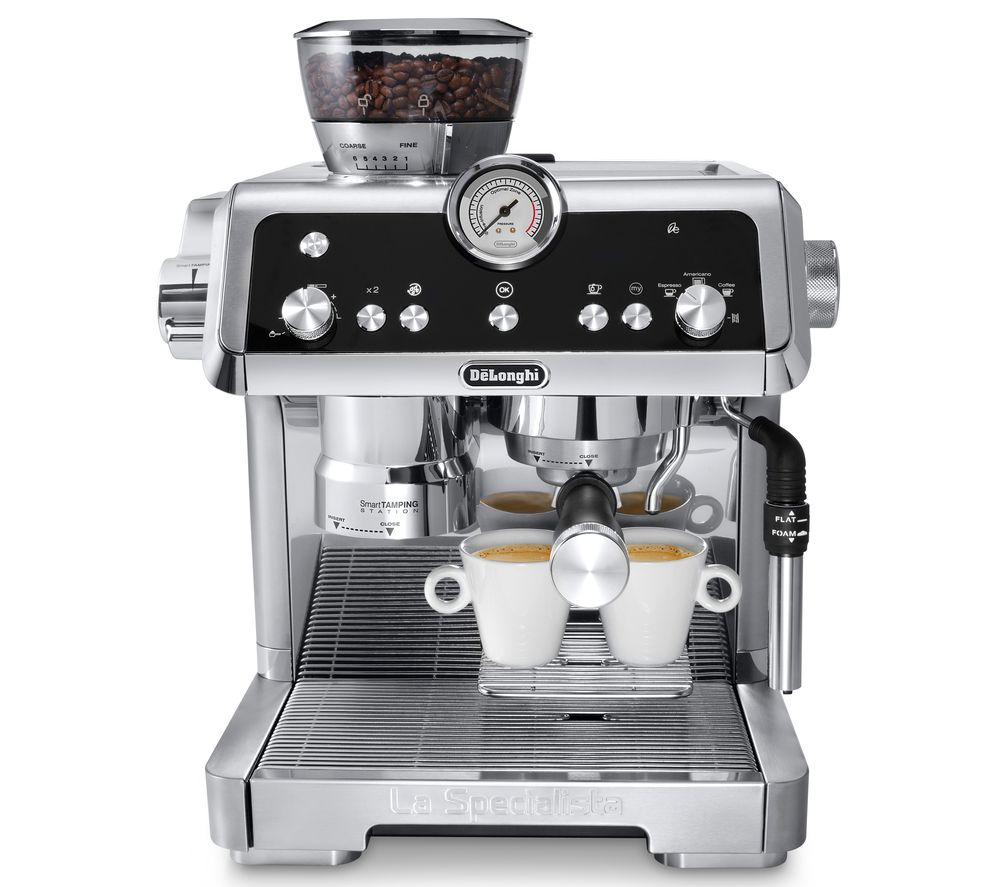 DELONGHI La Specialista EC9335.M Bean to Cup Coffee Machine  – Silver