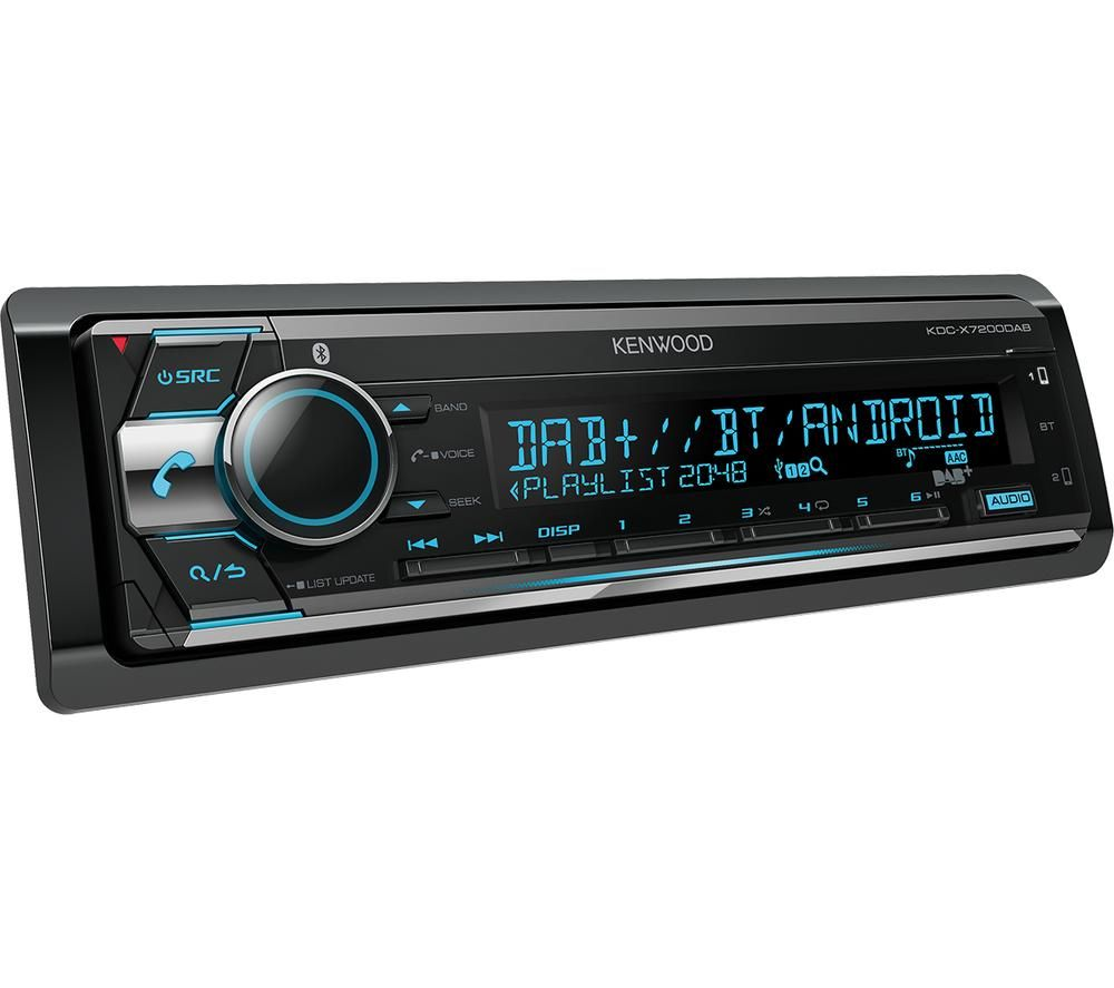 KENWOOD KDC X7200DAB CD Car Receiver - Black
