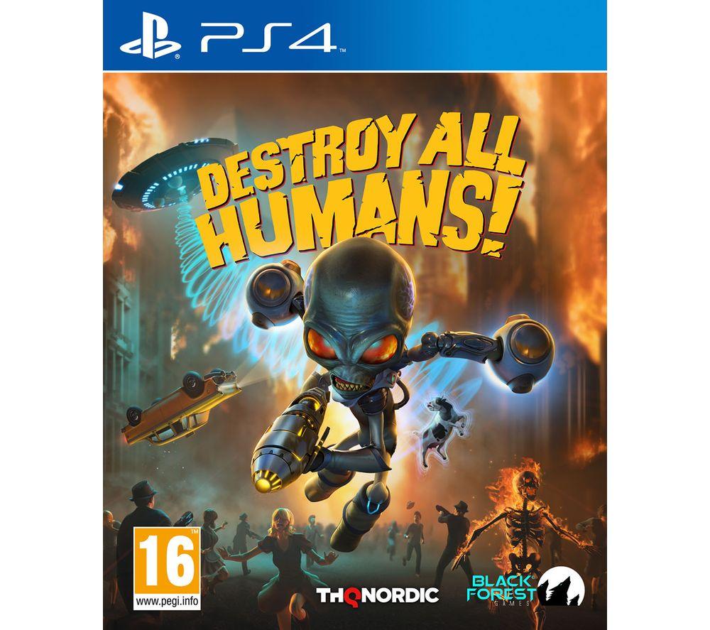 PLAYSTATION Destroy All Humans