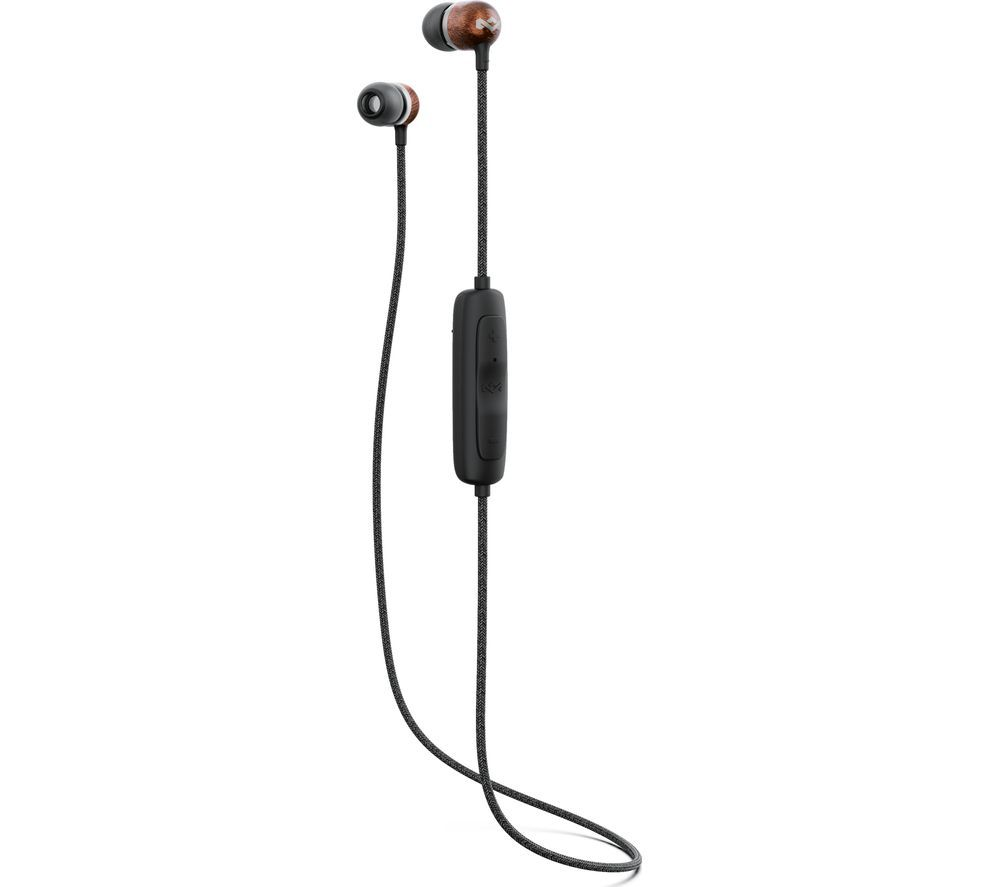 HOUSE OF MARLEY Smile Jamaica Wireless 2 Bluetooth Earphones - Black
