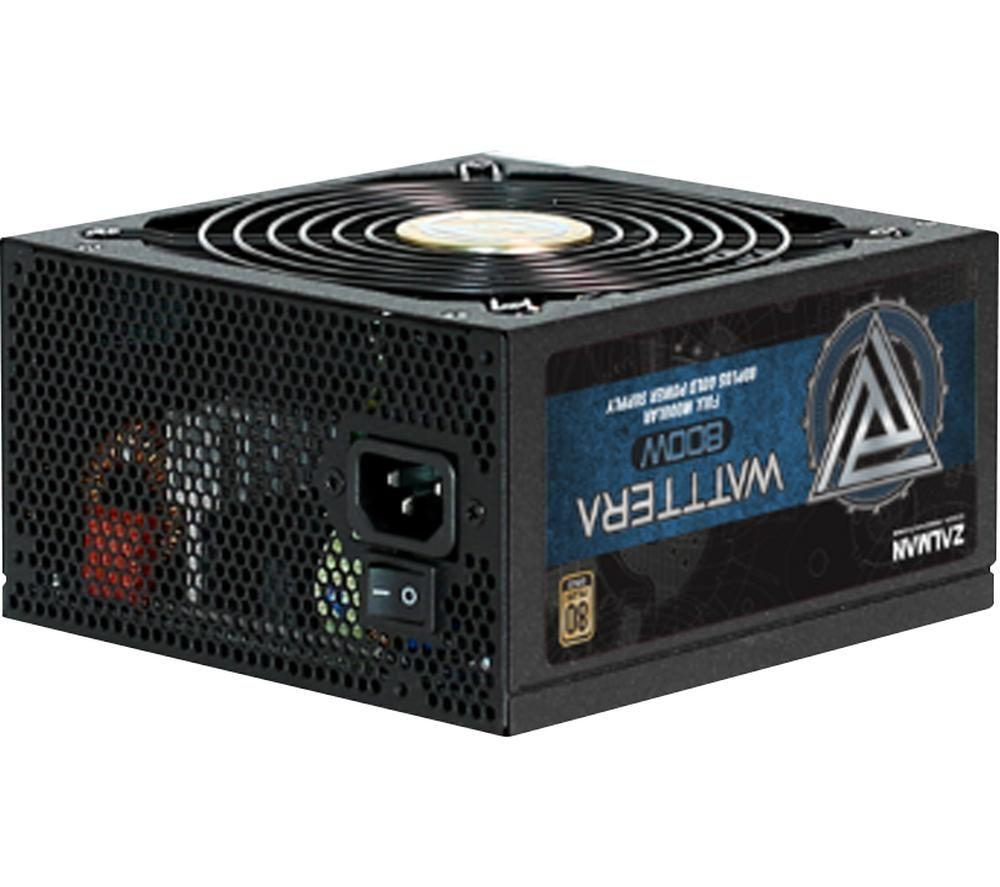 Image of ZALMAN Wattera ZM800-EBTII ATX PSU - 800 W, Gold