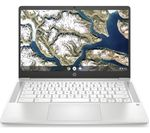 £249, HP 14a 14inch Chromebook - Intel® Pentium® Silver, 64 GB eMMC, White, Chrome OS, Intel® Pentium® Silver N5000 processor, RAM: 8GB / Storage: 64GB eMMC, Full HD screen, Battery life:Up to 11.5 hours,