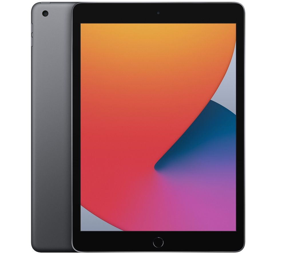 "Image of APPLE 10.2"" iPad (2020) - 32 GB, Space Grey, Grey"