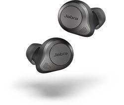 Elite 85t Wireless Bluetooth Noise-Cancelling Earbuds - Titanium Black