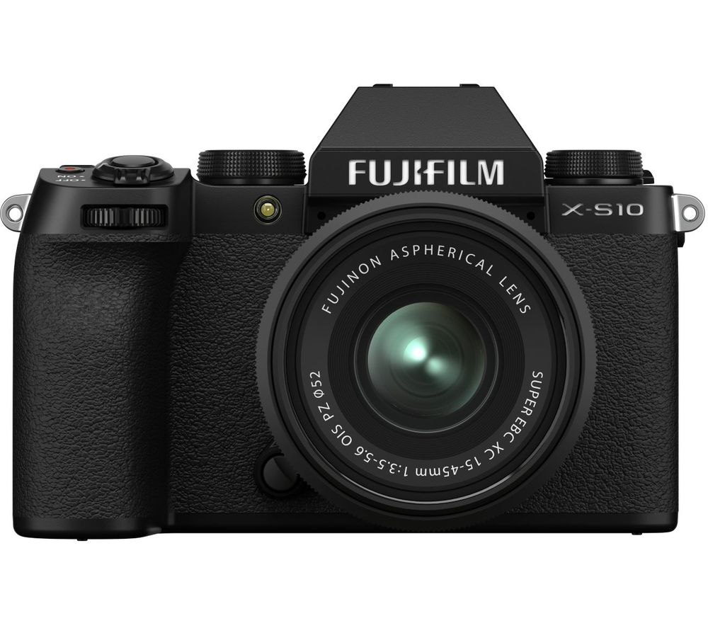Click to view product details and reviews for Fujifilm X S10 Mirrorless Camera With Fujinon Xc 15 45 Mm F 35 56 Ois Pz Lens Black Black.