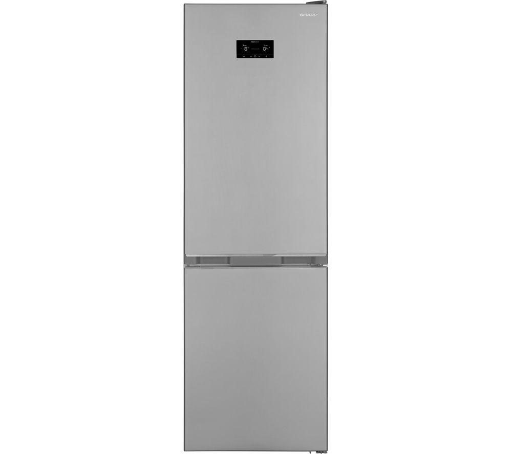 SHARP SJ-BA31DHXIE-EN 60/40 Fridge Freezer - Inox