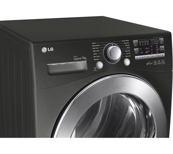 Lg Tumble Dryer Black ~ Buy lg rc bp z heat pump condenser tumble dryer black