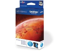 BROTHER LC1100HY-C Cyan Ink Cartridge