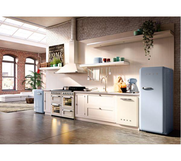 Buy smeg smf01pbuk 50 39 s retro stand mixer pastel blue - Electrodomesticos retro ...