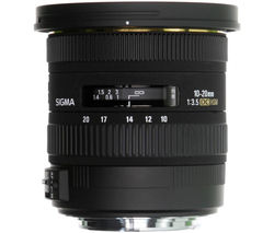 10-20 mm f/3.5 EX DC HSM Wide-angle Zoom Lens - for Canon
