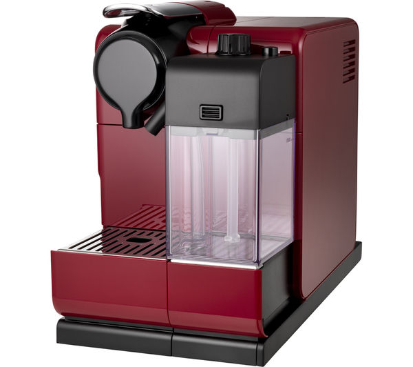 buy nespresso by de 39 longhi lattissima touch en550 r coffee machine red free delivery currys. Black Bedroom Furniture Sets. Home Design Ideas