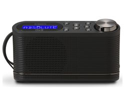 PLAY10 Portable DAB+/FM Radio - Black