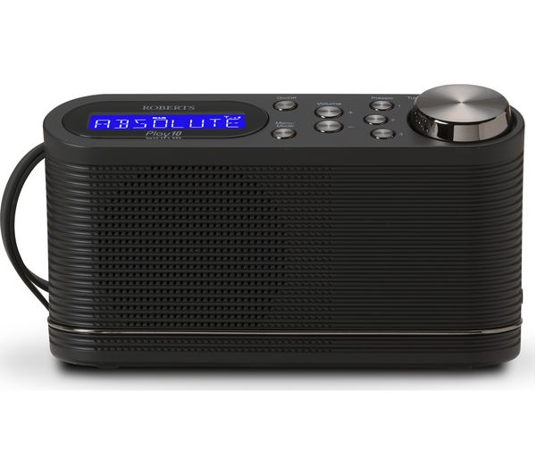 Image of ROBERTS PLAY10 Portable DAB+/FM Radio - Black