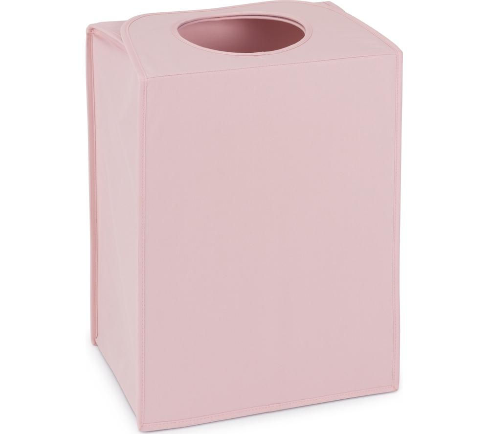 BRABANTIA Rectangular 55-litre Laundry Bag - Pastel Pink