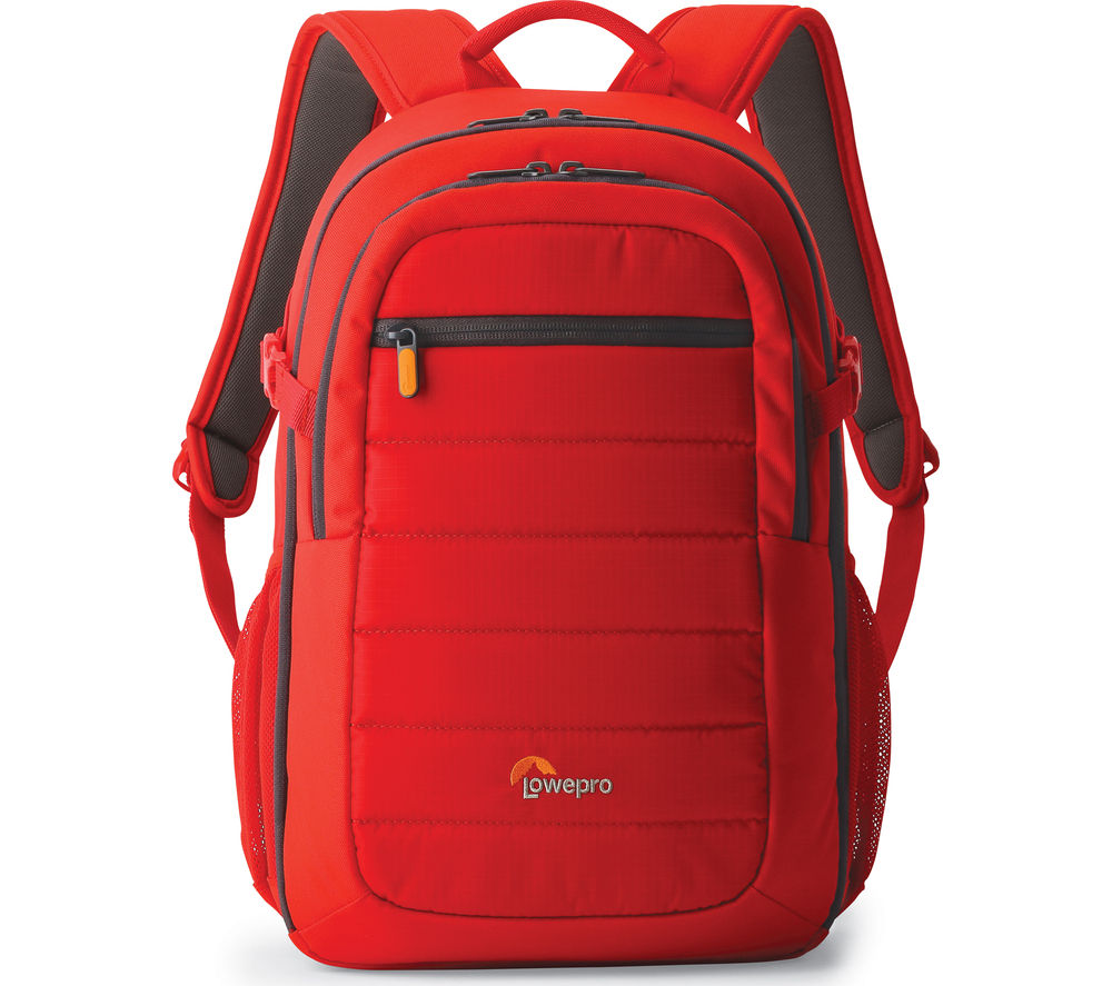LOWEPRO Tahoe BP 150 DSLR Camera Backpack – Mineral Red