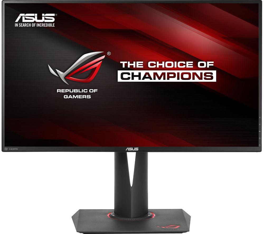 "ASUS ROG Swift PG279Q Quad HD 27"" LED Gaming Monitor - Black"