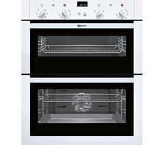 NEFF U17M42W5GB Electric Built-under Double Oven - White