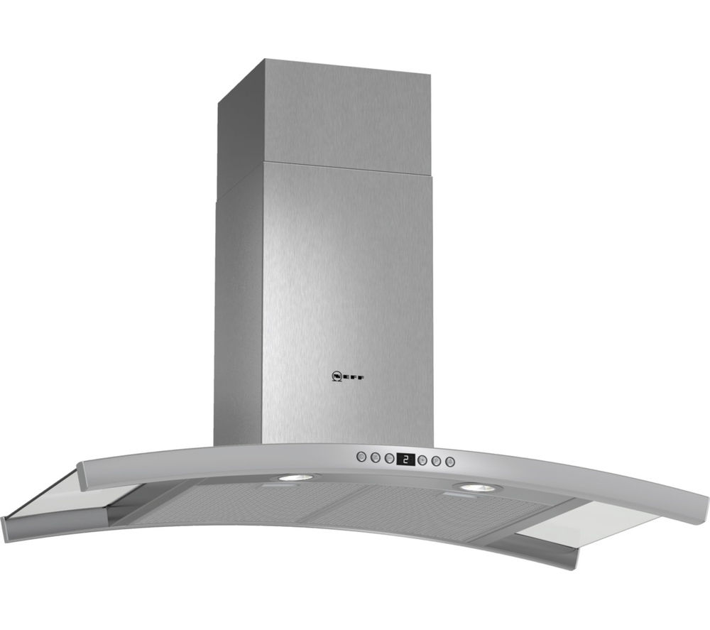 NEFF D89DK62N0B Chimney Cooker Hood - Stainless Steel