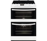 ZANUSSI ZCV68330WA 60 cm Electric Ceramic Cooker - White