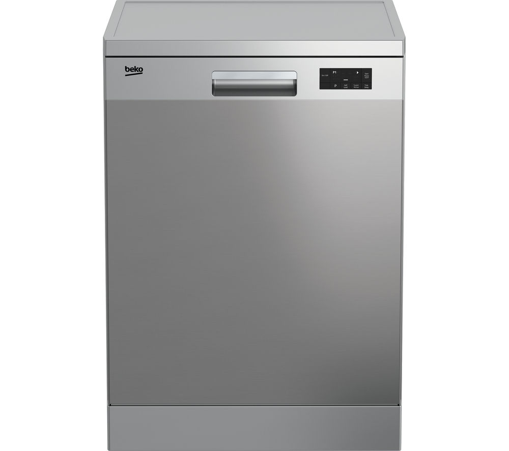 BEKO DFN15X10X Full-size Dishwasher - Stainless Steel