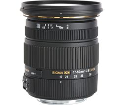 SIGMA 17-50 mm f/2.8 EX DC HSM Standard Zoom Lens - for Canon