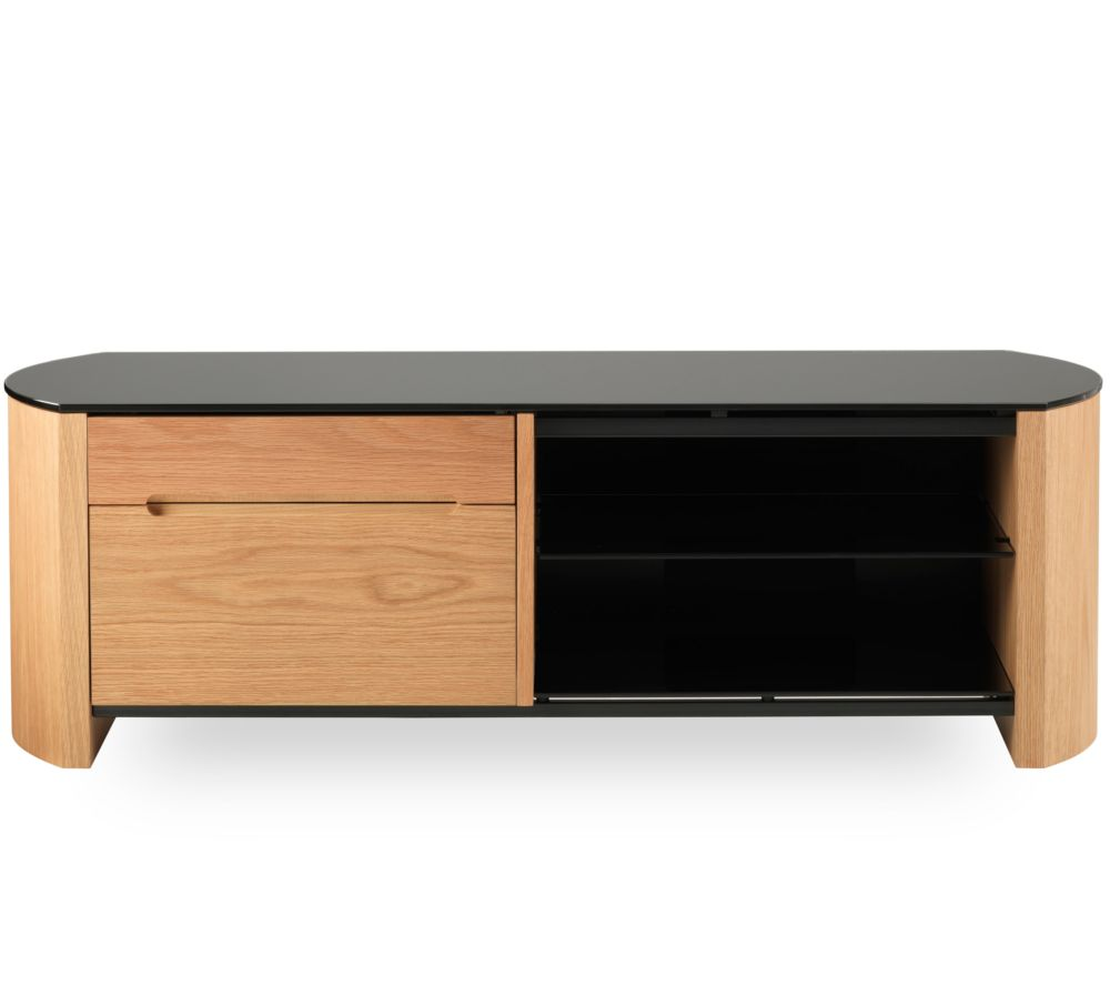 ALPHASON Finewoods 1100 TV Stand - Light Oak