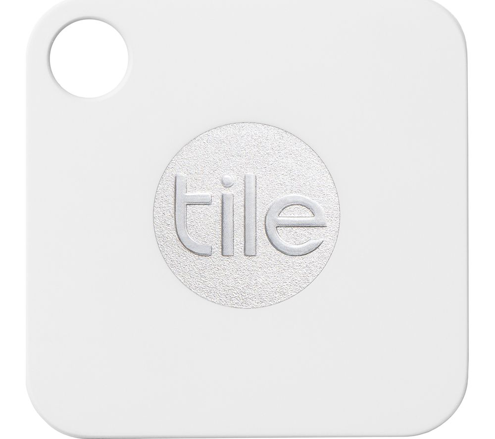 TILE Mate Bluetooth Tracker - Pack of 4 + Mate Bluetooth Tracker