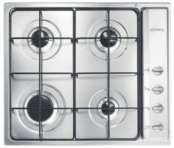 SMEG S64S Gas Hob - Stainless Steel