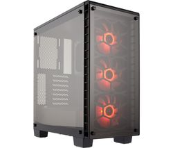 CORSAIR Crystal 460 X RGB ATX Mid-Tower PC Case