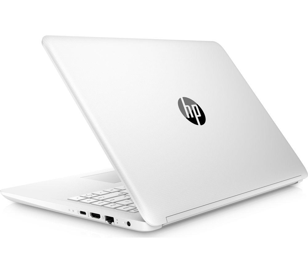 "Image of HP 14-bp071sa 14"" Laptop - Snow White, Snow"