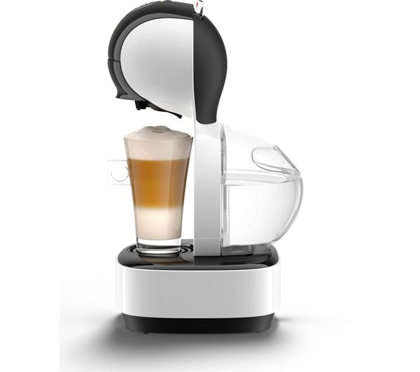buy dolce gusto by krups lumio kp130140 coffee machine white free delivery currys. Black Bedroom Furniture Sets. Home Design Ideas