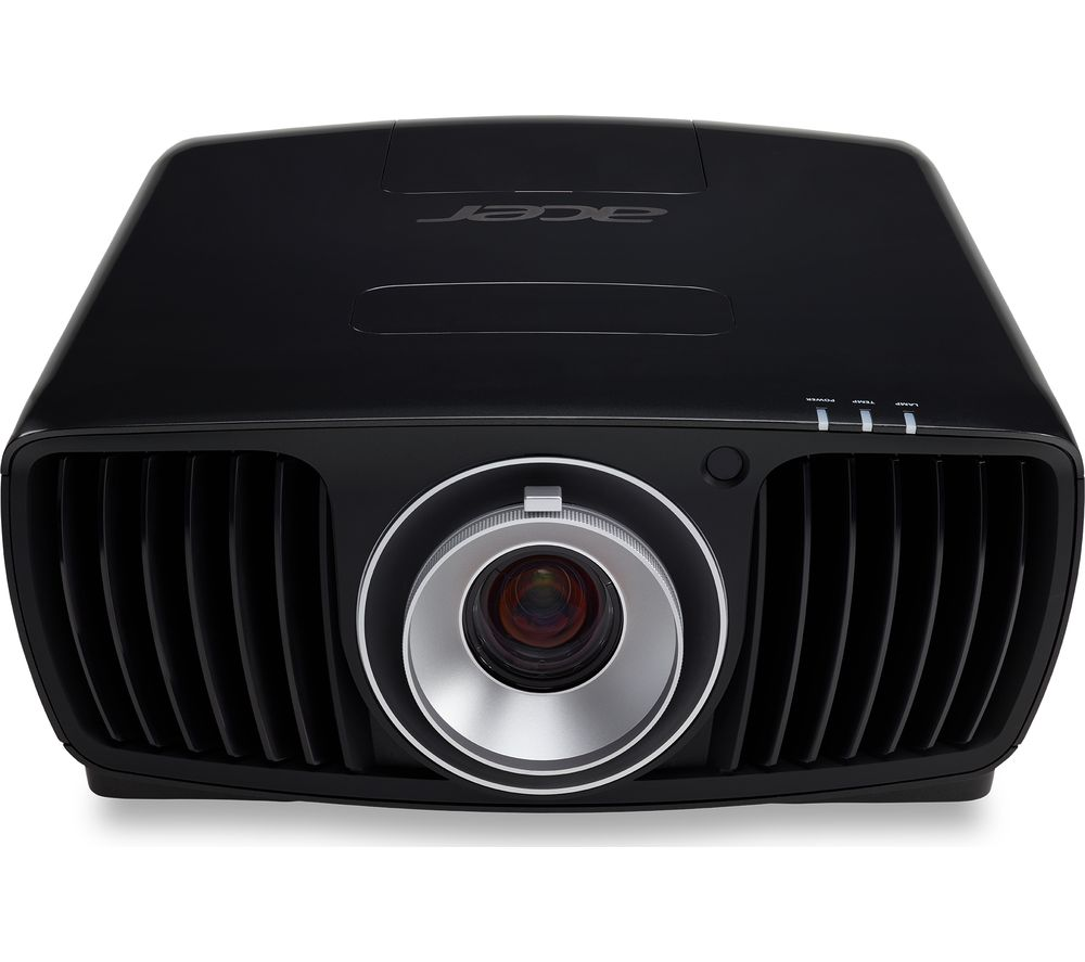 buy acer v9800 4k ultra hd home cinema projector free delivery currys. Black Bedroom Furniture Sets. Home Design Ideas