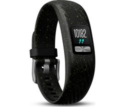 GARMIN Vivofit 4 Fitness Tracker - Black Speckled, Small/Medium