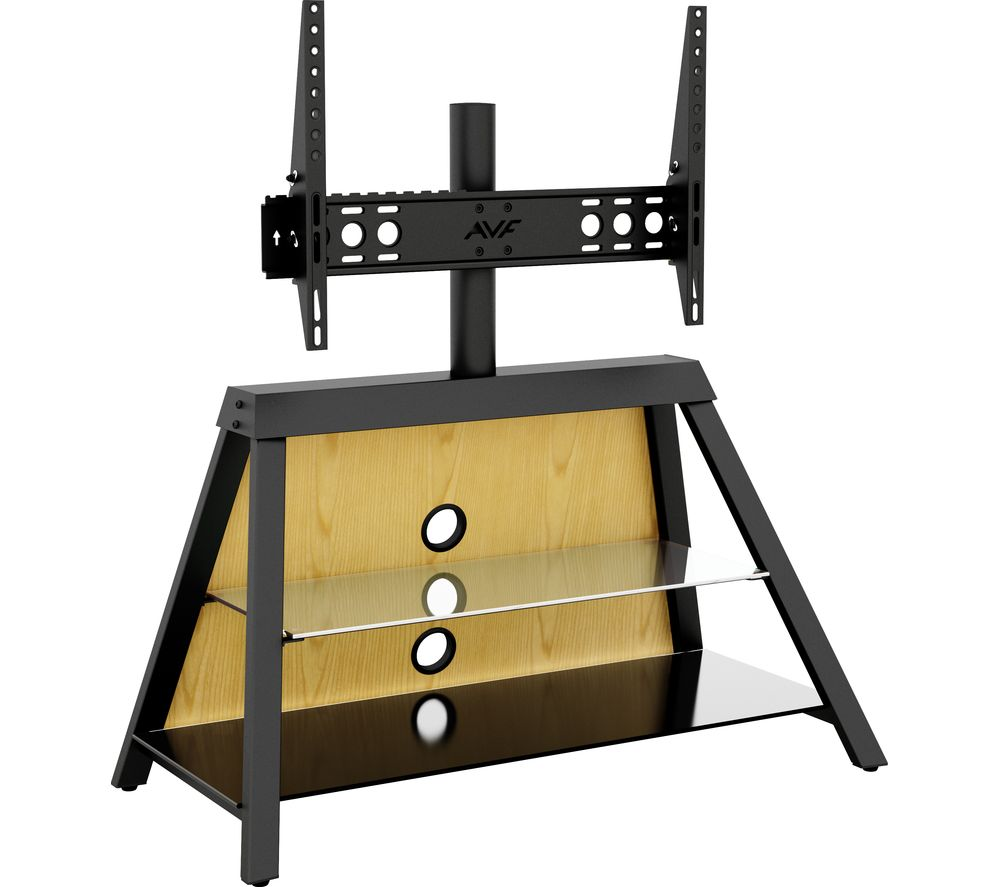 a95963466f Buy AVF Easel 925 mm TV Stand with Bracket - Black | Free Delivery | Currys