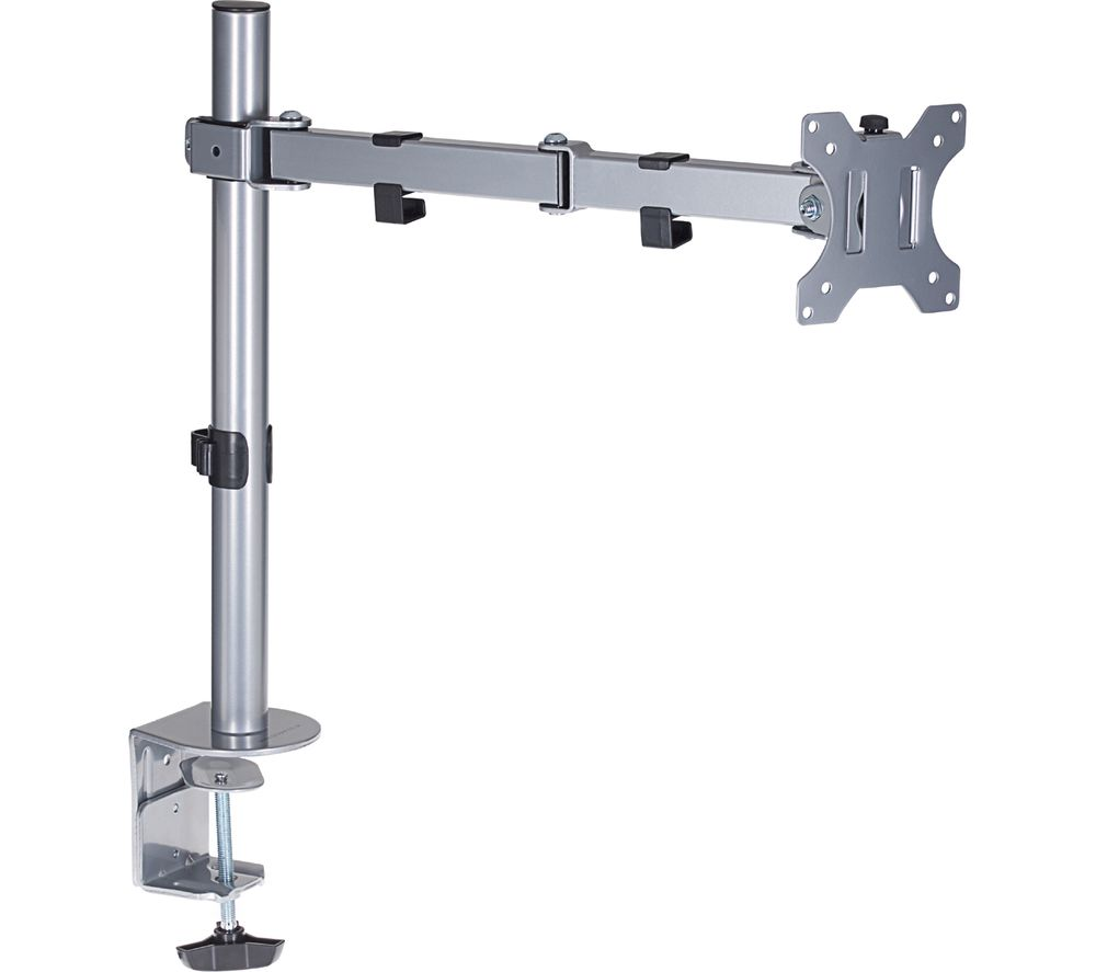 PROPER Swing Arm Full Motion Monitor Desk Mount Review