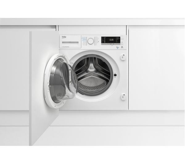 Buy Beko Wdix7523000 Integrated 7 Kg Washer Dryer Free