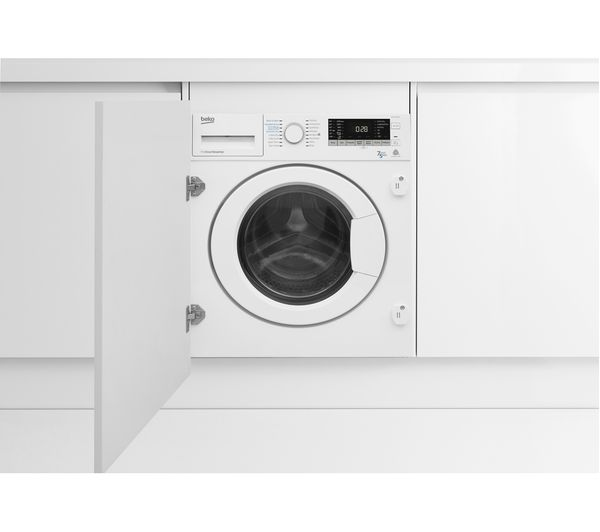 Buy Beko Wdix7523000 Integrated 7 Kg Washer Dryer Free Delivery