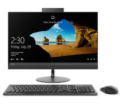 """LENOVO 520-24ICB 23.8"""" Intel® Core™ i5+ All-in-One PC - 1 TB HDD, Black"""