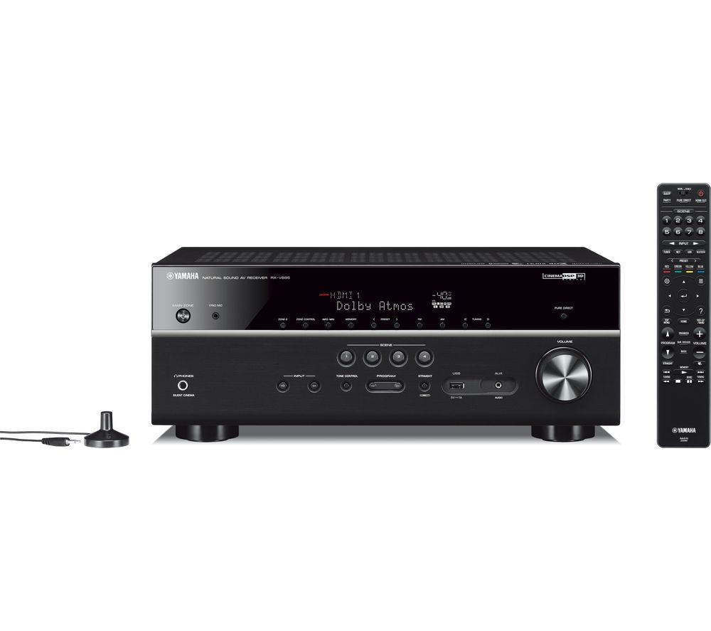 YAMAHA RX-V685 7.2 Wireless AV Receiver - Black