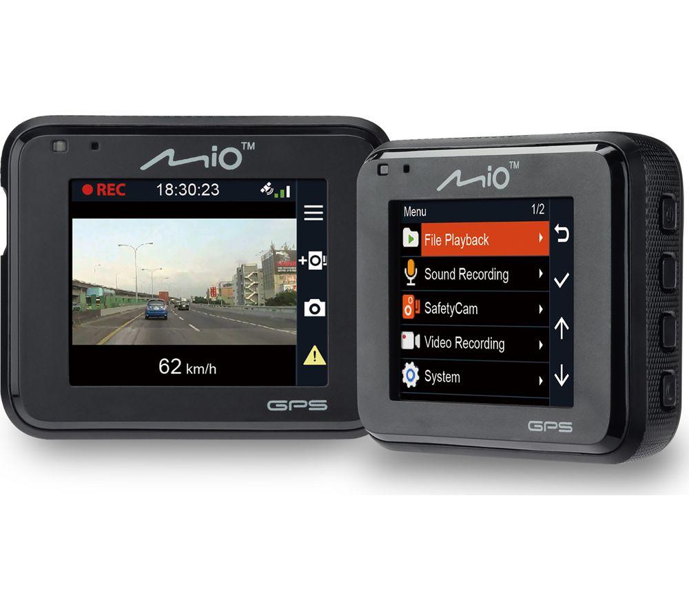 Image of MIO MiVue C330 Full HD Dash Cam - Black, Black
