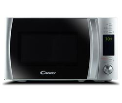 CANDY CMXW20DS-UK Compact Solo Microwave - Silver