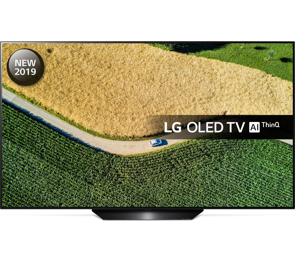 "65"" LG?�OLED65B9PLA Smart 4K Ultra HD HDR OLED TV with Google Assistant, Black"