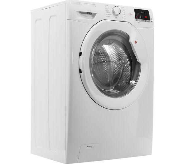 White HOOVER Dynamic Next DX C9DG NFC 9 kg Condenser Tumble Dryer