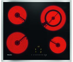 MIELE KM6520 Electric Ceramic Hob - Black