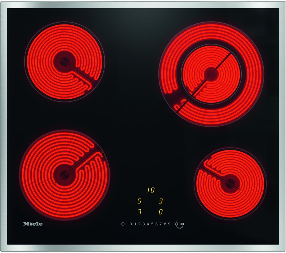 Image of KM6520 Electric Ceramic Hob - Black, Black
