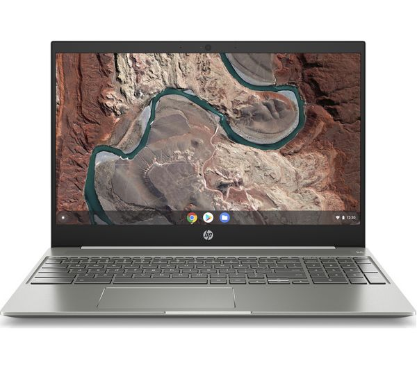 "HP 15b 15.6"" Chromebook - Intel® Core™ i3, 128 GB eMMC, White"