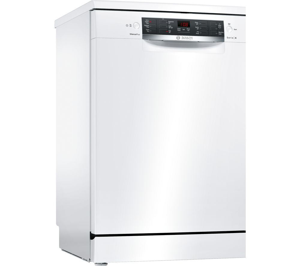 Image of BOSCH Serie 4 SMS46IW10G Full-size Dishwasher - White, White