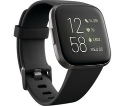Versa 2 with Amazon Alexa - Black & Aluminium